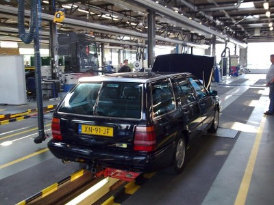 Lancia Thema 8.32 SW bij de RDW