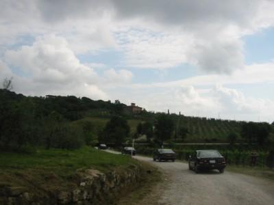 Invoegen in het landschap - 8.32 Meeting Toscane 2003