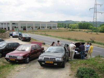 Zomaar kapot - 8.32 Meeting Toscane 2003