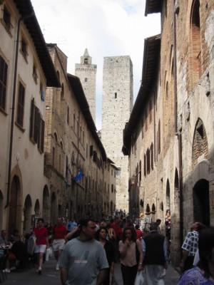 San Gimignano - 8.32 Meeting Toscane 2003