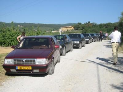 Zomaar een parkeerplaats - 8.32 Meeting Toscane 2003