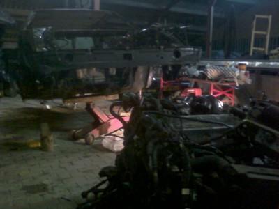 Scheiding motor - carrosserie Lancia Thema V6