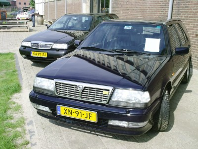 Lancia Thema 8.32 SW - Youngtimer event 20 mei 2012 Ulft